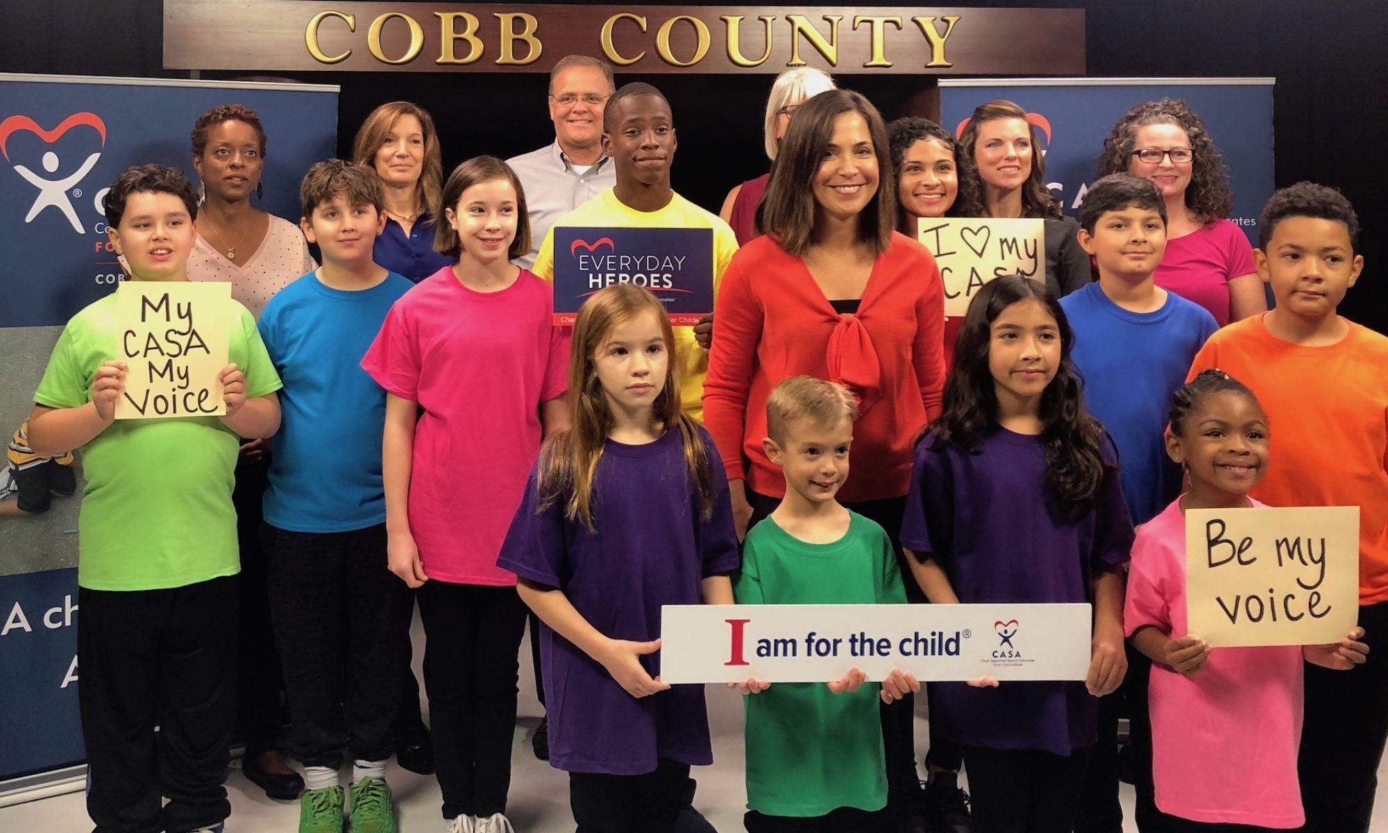 Ambassadors of Cobb CASA